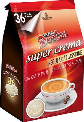 DOMINO COFFEE PADS REGULAR - 36 PADS