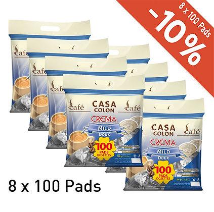 CASA COLON 800 COFFEE PADS - MILD
