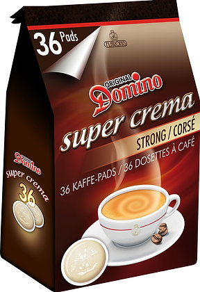 DOMINO COFFEE PADS STRONG 36