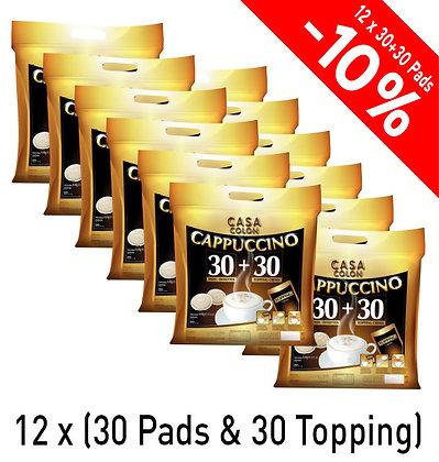 "CASA COLON KAFFEEPADS ""CAPPUCCINO"" - 360+360 PADS"