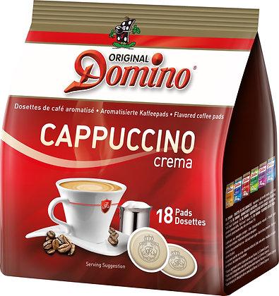 "DOMINO COFFEE PADS ""CAPPUCCINO"" - 18 PADS"