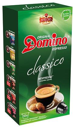 NESPRESSO®* COMPATIBLE CAPSULES DOMINO CLASSICO