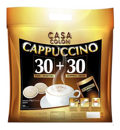 "CASA COLON KAFFEEPADS ""CAPPUCCINO"" - 30+30 PADS"