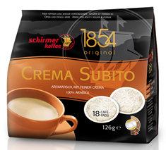 SCHIRMER CREMA SUBITO COFFEE PADS 18 PCS