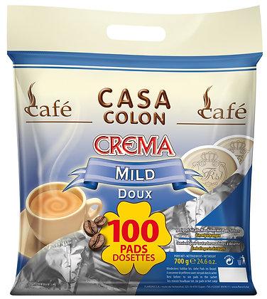 CASA COLON MILD - 100 COFFEE PADS