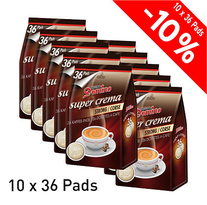 DOMINO 360 COFFEE PADS - STRONG