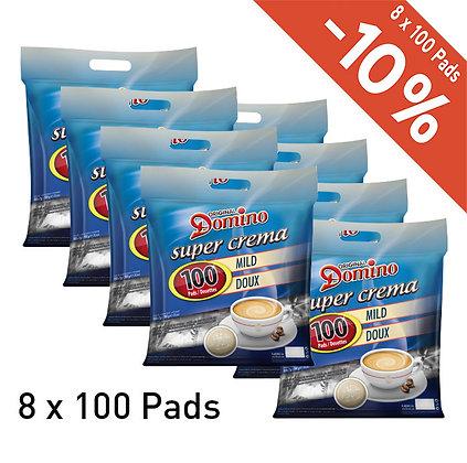DOMINO 800 COFFEE PADS - MILD