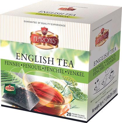 FLARONIS PYRAMID TEA BAGS FENNEL