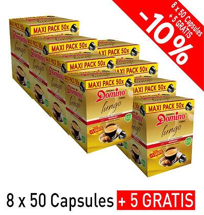 "DOMINO NESPRESSO®* COMPATIBLE CAPSULES ""LUNGO"" - 440 capsules"