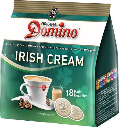 """DOMINO FLAVORED COFFEE PADS """"IRISH CREAM"""" - 18 PADS"""