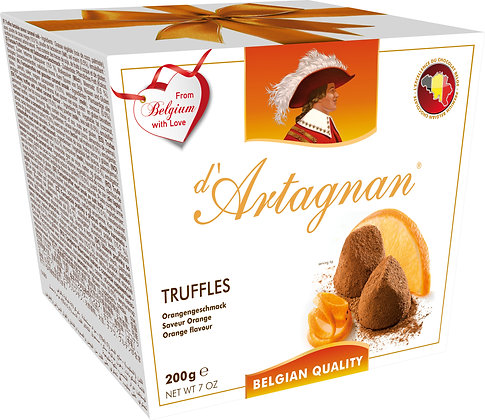 D'ARTAGNAN TRUFFLES - ORANGE 200 g
