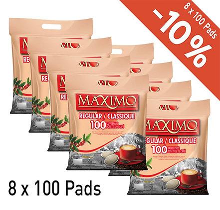 MAXIMO 800 COFFEE PADS - REGULAR