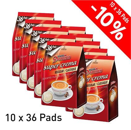 DOMINO 360 COFFEE PADS - REGULAR
