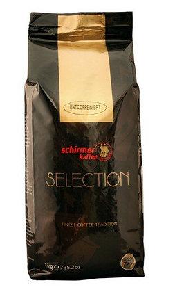 SCHIRMER CAFFEINE FREE COFFEE 1 Kg BEANS