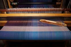 14. Natural - Cotton or Merino wool, or Superwashmerino & tussah silk weft