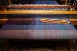 6. Medium Blue - Cotton or silk weft