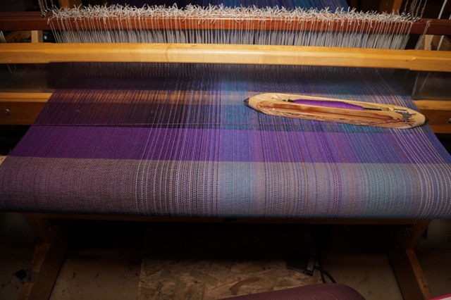 8. Purple - Cotton or silk weft