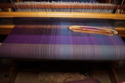 8. Purple - Cotton or silk weft