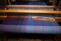 11. Royal Blue - cotton weft
