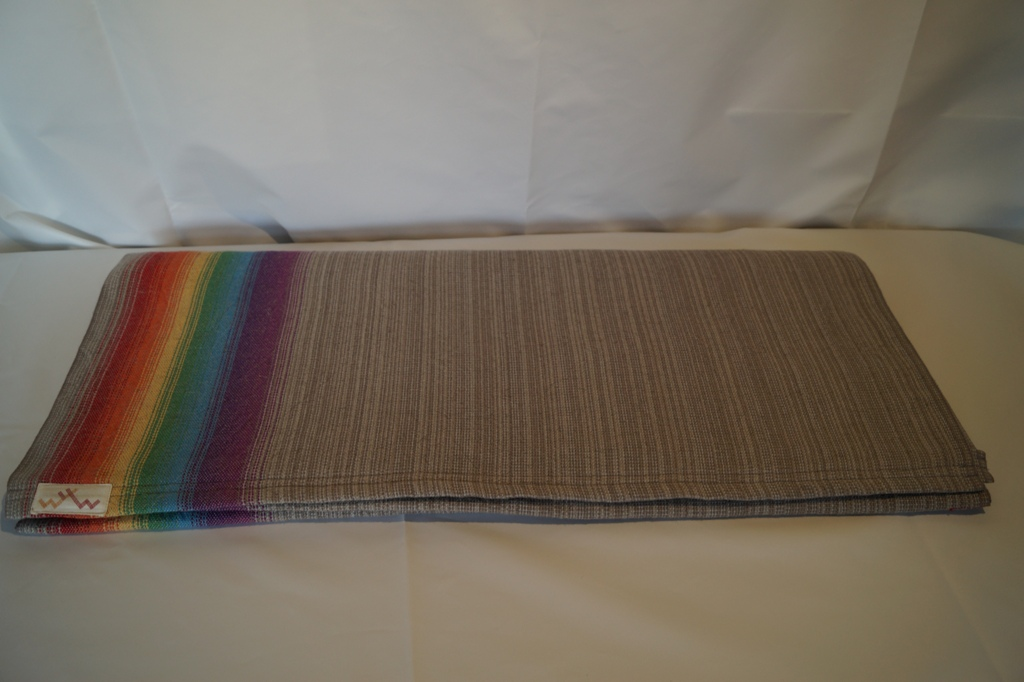 Grey Sky with super soft flax weft