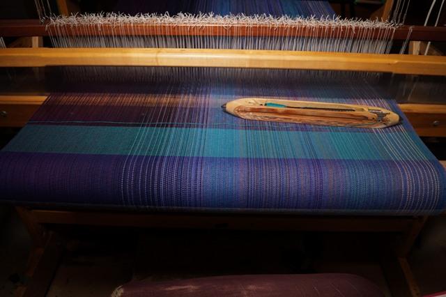 12. Aqua - Cotton weft