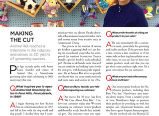 Pet Age article: 30 Years in Business!