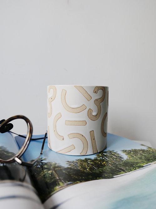CONFETTI Ceramic Pot (12cm)