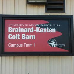 Colt Barn Sign