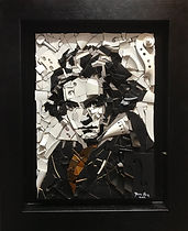 Finn Stone_Beethoven_46 x 57cm_violins a