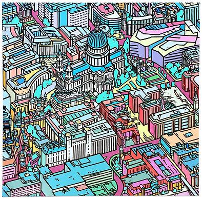 Tommy Penton, St Paul's 2 _ London, Mixe