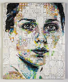 Woolff_Gallery_Zac Freeman, Lily, 73 x 8