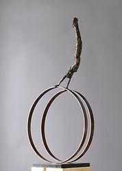 Carol Peace, Silks 2, Bronze.jpg