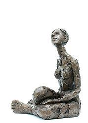 Carol Peace, Winter Sun, Bronze resin