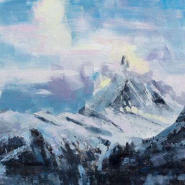 Woolff_Gallery_5) sunrise on the Matterh