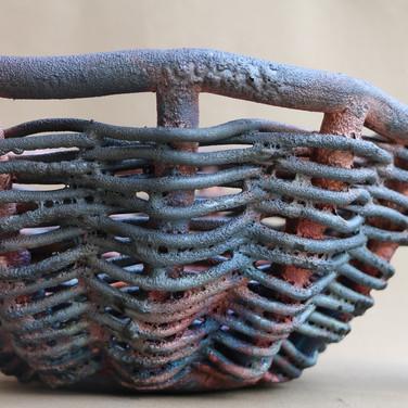 Raku Woven Basket