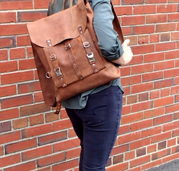 New! Zenfish Leather makes Backpacks