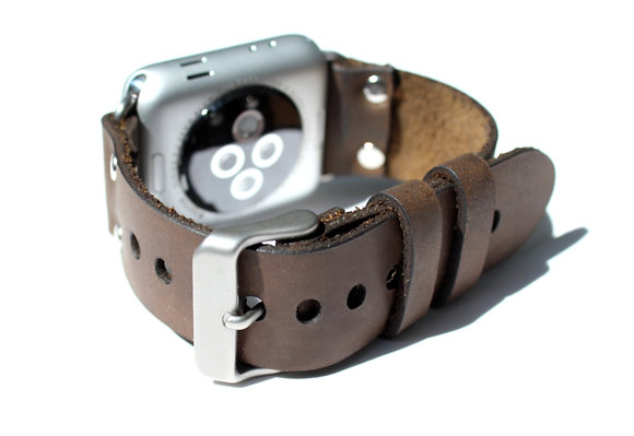 Leather Apple Watchband