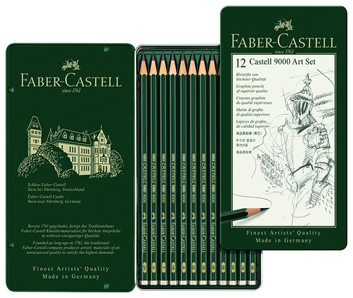 Faber Castell 9000 set of 12