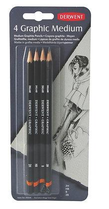 Derwent Graphic Pencils - 4