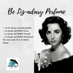 Be Legendary Perfume Liz Taylor Birthday