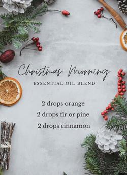 Christmas Morning Diffuser Blend