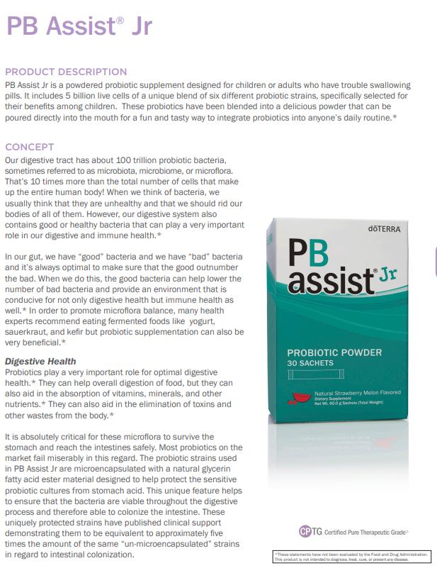 pb assist jr
