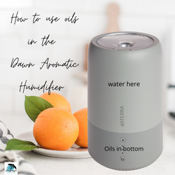 How to use oils in the Dawn Aromatic Hum