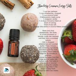 Make it Monday Strawberry Cinnamon Energ