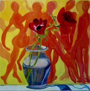 Anemones with Dancers