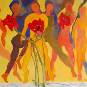 Dancers with Flowers