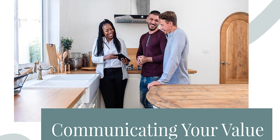Communicating Your Value Strategies For Sellers