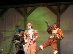 Pinocchio col gatto e la volpe