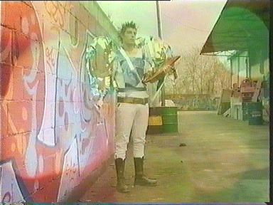 Angelo con murales