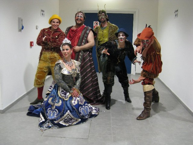 Backstage Pinocchio
